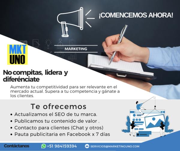 plan túmbate a la competencia planes mensuales marketinguno mktuno