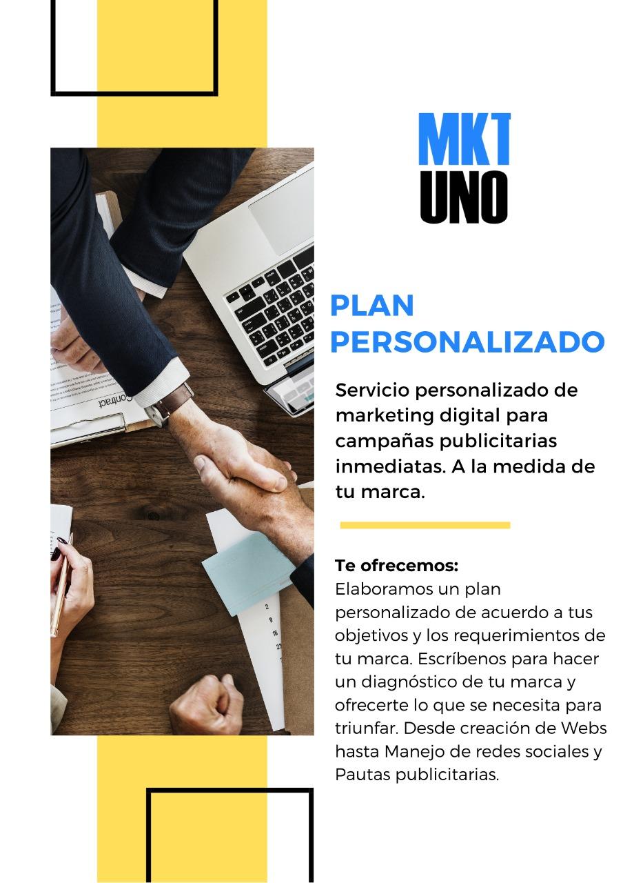 MarketingUNO Publicidad efectiva agencia marketing publicidad digital planes mensuales plan personalizado